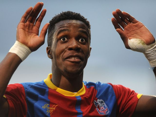 Wilfried Zaha: Linked with January switch to champions