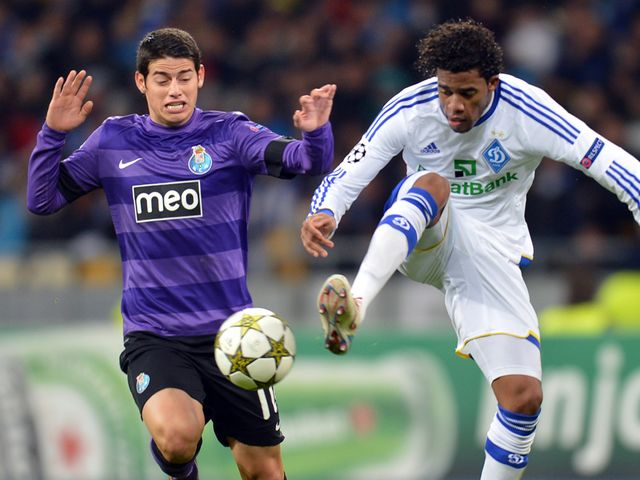 Betao looks to hold off James Rodríguez