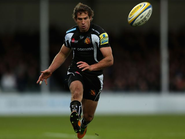 Gonzalo Camacho: Scored an early try for Exeter