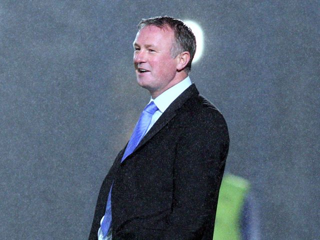 Michael O'Neill: His side salvaged a last-gasp equaliser