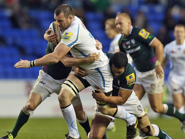 Tom Hayes leads an Exeter charge
