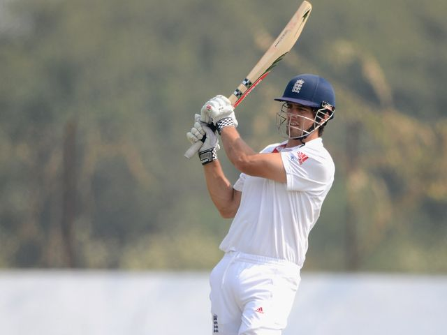 Alastair Cook: Finally out for 176