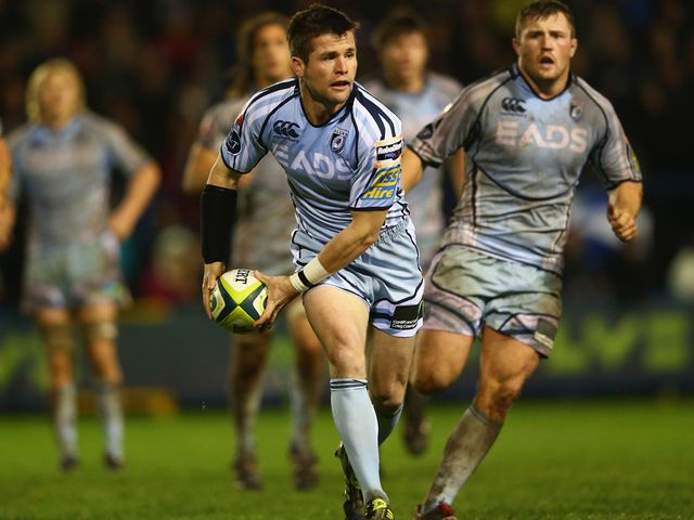 Ceri Sweeney: Scored the winning try for Cardiff