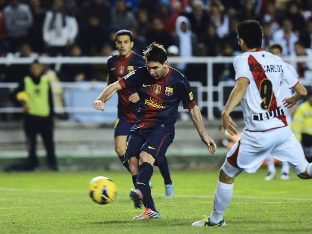 Messi: Missed training on Friday