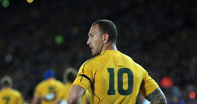 Quade Cooper: Has committed to the Wallabies