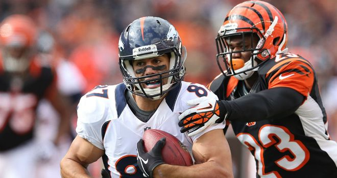 Eric Decker: Two TDs for Denver Broncos