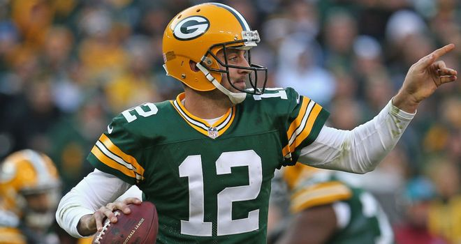 Aaron Rodgers: Four TDs for Green Bay Packers
