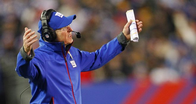 Tom Coughlin: Left frustrated as the Giants let a 20-10 lead slip to lose to the Steelers
