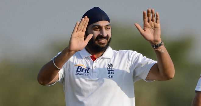 Monty Panesar: 10 wickets in the match