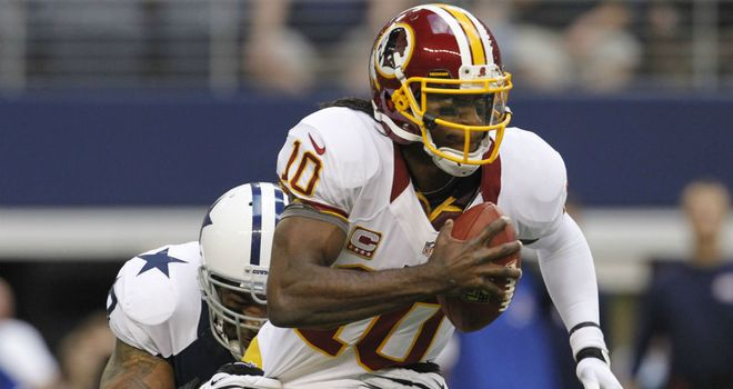 Robert Griffin III: Tormented Dallas Cowboys in the first half
