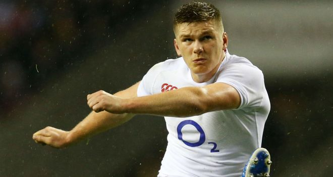 Owen Farrell: Key to England troubling New Zealand