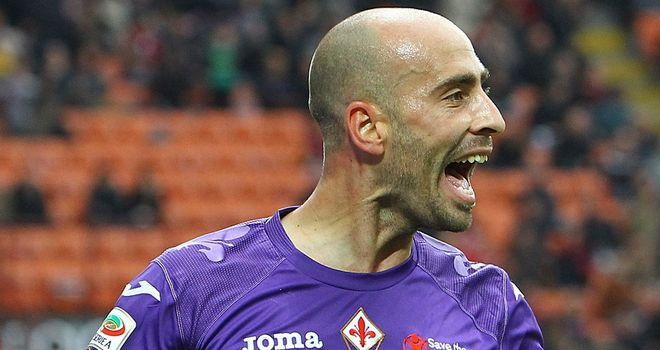 Borja Valero: Linked with moves to Man City, Arsenal and Tottenham