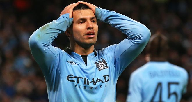 Sergio Aguero: Thinks injuries have been a big problem for Manchester City this season