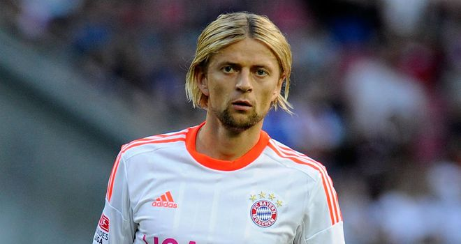 Anatoliy Tymoshchuk: Has slipped down the pecking order at Bayern Munich