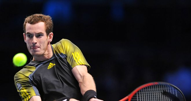 Andy Murray: will take on Roger Federer in the semis