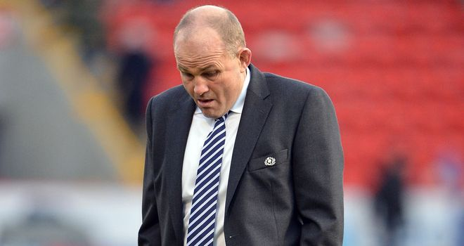 Andy Robinson: Disappointed by recent run of results
