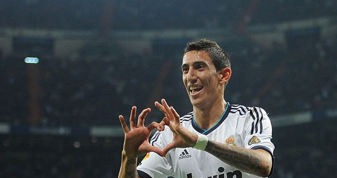 Angel Di Maria: Looking forward to facing Borussia Dortmund in the Champions League