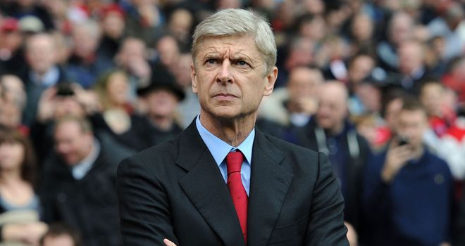 Arsene Wenger: Has lifted the pressure that had been building on himself and his players