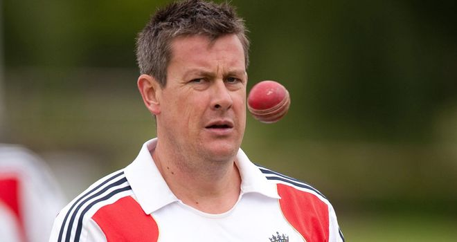 Ashley Giles: looking forward to his new role