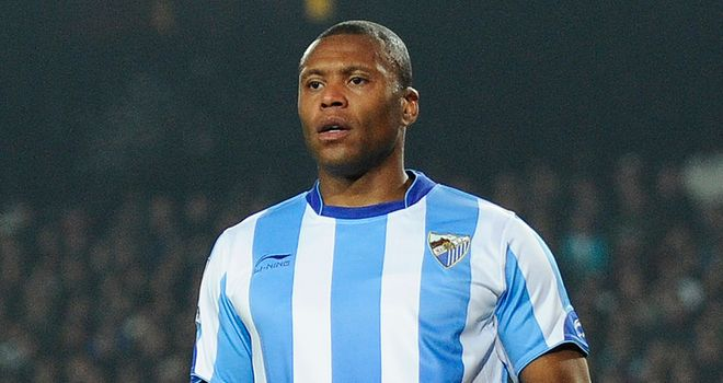 Julio Baptista: Hopes to make his return from a long-term absence in time for Malaga's cup clash with Cacereno