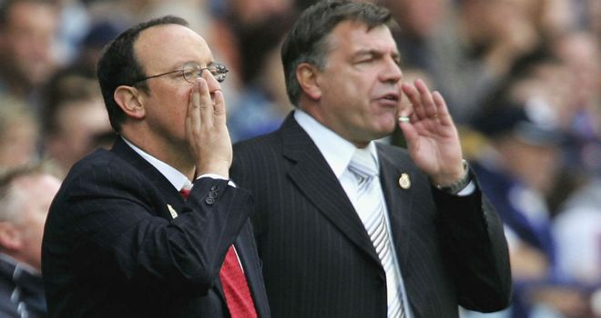 Rafa Benitez and Sam Allardyce come up against each other at Upton Park on Saturday