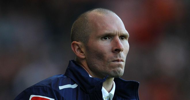 Michael Appleton: Unhappy with Bloomfield Road pitch