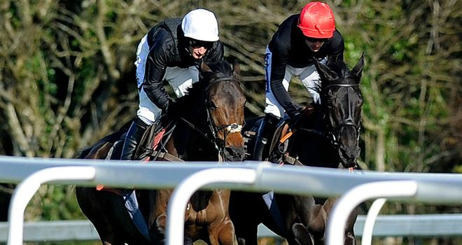 Big Buck's (red cap): Tried and tested route this season as he will head to Newbury first