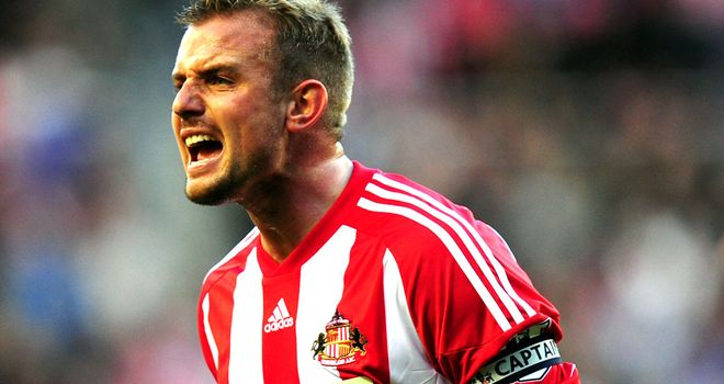 Lee Cattermole: Picked up injury in build-up to Sunderland's game with Everton on Saturday