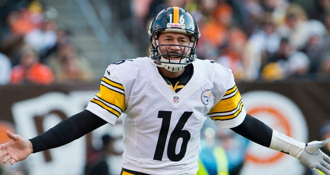 Charlie Batch: Threw three interceptions while stepping in for Ben Roethlisberger