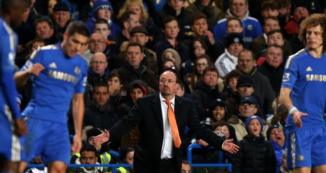 Rafa Benitez: Looking for first win as new Chelsea manager