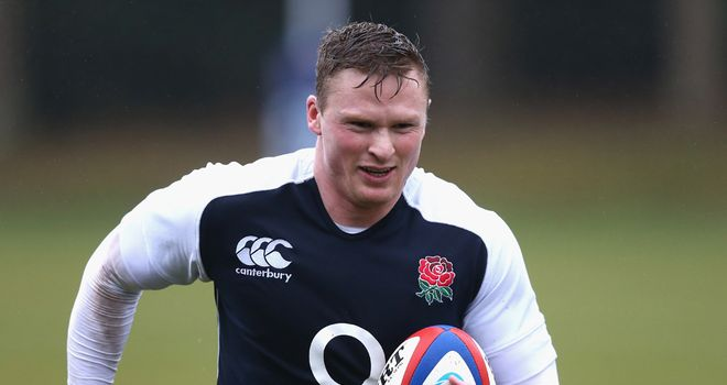 Chris Ashton: Restored to England's right wing for Saturday's match with Australia