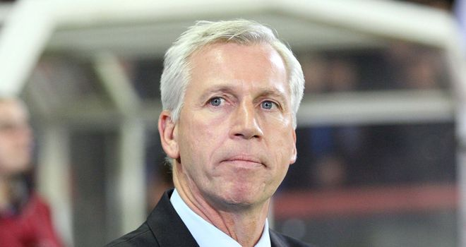 Alan Pardew: Pleased with the performance of Sammy and Shola Ameobi