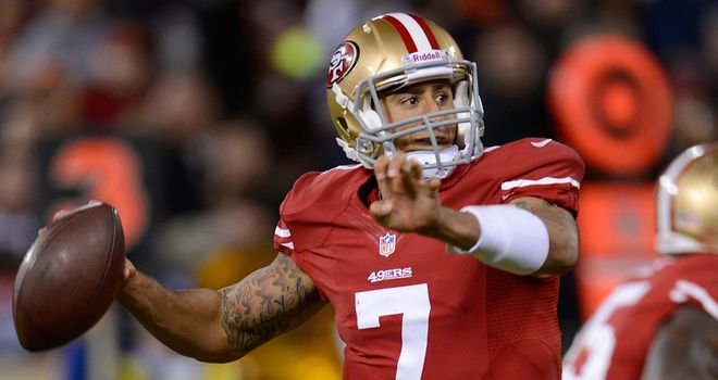 Colin Kaepernick: Looked unstoppable against Green Bay