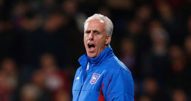 Mick McCarthy: Ipswich boss was happy to take a point from Peterborough's visit