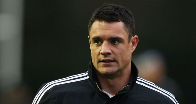 Dan Carter: Expected to return at fly-half for Saturday's Test against England