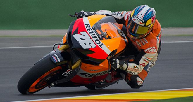 Dani Pedrosa: Finished as the fastest rider on the second day of testing at Valencia