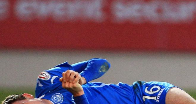 David Robertson: Suffered a broken leg during St Johnstone's 1-0 home defeat to Hibernian