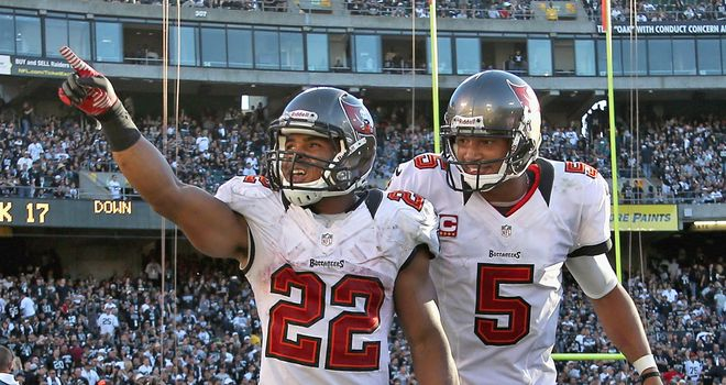 Doug Martin: Rushed for 251 yards against Oakland in Tampa's 42-32 success