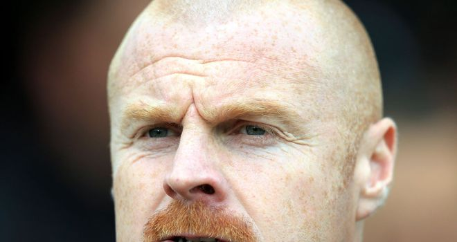 Sean Dyche: Handed Long his Burnley debut