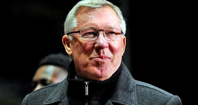 Sir Alex Ferguson: Delighted with win at Villa Park