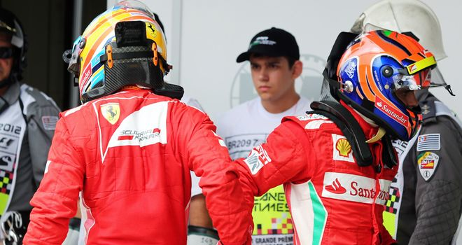 Felipe Massa: Closed the gap to team-mate Fernando Alonso late in the season