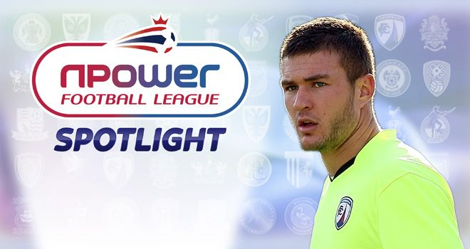 Richard O'Donnell: Hoping to make the most of his chances at Chesterfield