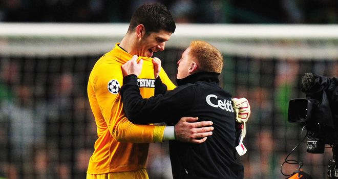 Fraser Forster: His save laid the foundation for victory