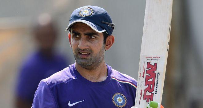 Gautam Gambhir: Unbeaten on 53 overnight