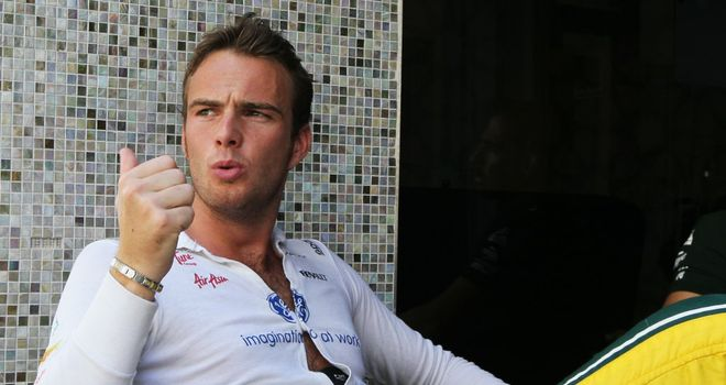 Giedo van der Garde: Announcement on Friday?
