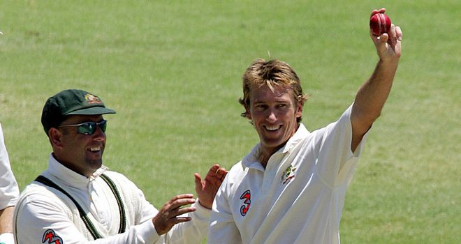 Glenn McGrath in his Australia pomp