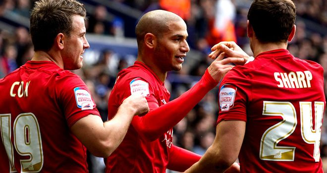 Adlene Guedioura scored first for Forest
