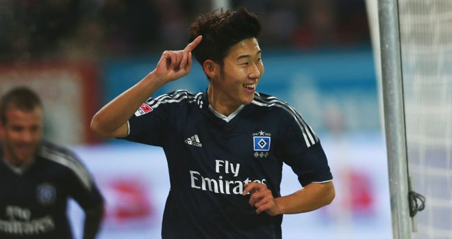 Heung-Min Son: Hamburg's top scorer this season with six goals