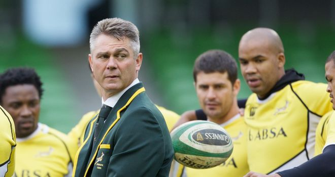 Heyneke Meyer: Won't get carried away by Dublin victory