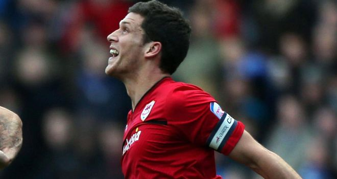 Mark Hudson: Scored Cardiff's winner against Hull